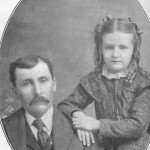 Henry Morrison McMillan and his daughter, Hazel Fay McMillan