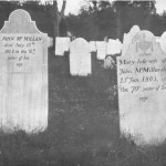 Graves of John McMillan and Mary Arnott