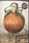 Onion Man - Rice Seeds Advertising Card