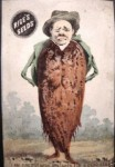 Beet Man - Rice Seeds Advertising Card