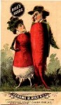 Radish People - Rice Seeds Advertising Card